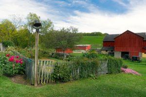 Arbeiten auf Bauernhof